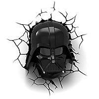 Star Wars - 3D Wandleuchte Darth Vader
