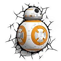 Star Wars - 3D Wandleuchte BB-8