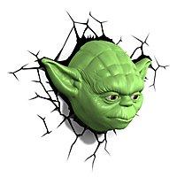 Star Wars - 3D Wandleuchte Yoda