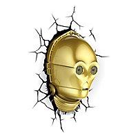 Star Wars - 3D Wandleuchte C-3PO