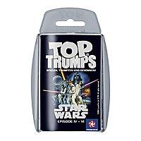 Star Wars - Top Trumps Kartenspiel Episode IV - VI