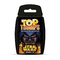 Star Wars - Top Trumps Kartenspiel Episode I - III