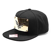 Zelda - Snapback Cap Metal Plate Gold