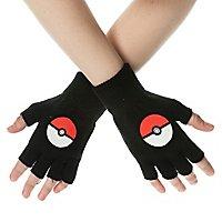 Pokémon - Fingerlose Handschuhe Pokéball