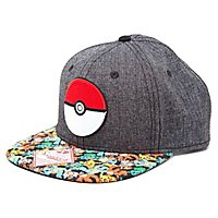 Pokémon - Snapback Cap Pokéball