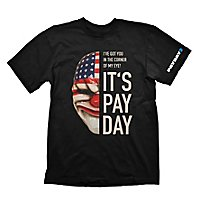 Payday 2 - T-Shirt Maske Dallas