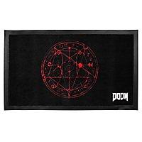 Doom - Fußmatte Pentagram