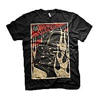 Star Wars - T-Shirt Vader Flammen