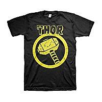 Thor - T-Shirt Distressed Hammer
