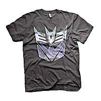 Transformers - T-Shirt Distressed Decepticon Schild