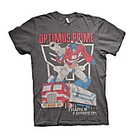 Transformers - T-Shirt Optimus Prime Distressed