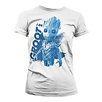 Guardians of the Galaxy - Girlie Shirt I am Groot