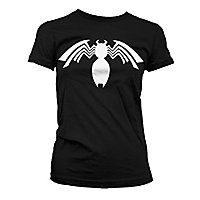 Spider-Man - Girlie Shirt Venom Logo