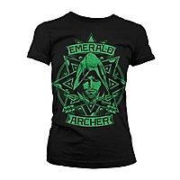 Arrow - Girlie Shirt Emerald Archer