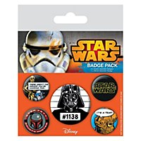 Star Wars - Ansteck-Buttons Cult