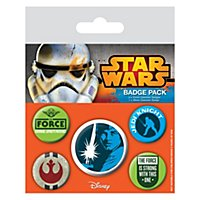 Star Wars - Ansteck-Buttons Jedi