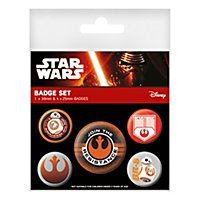 Star Wars - Ansteck-Buttons Widerstand