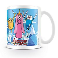 Adventure Time - Tasse Prinzessin, Jake & Finn