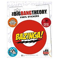 Big Bang Theory - Vinyl Sticker Set