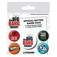 Big Bang Theory - Ansteck-Buttons Logo