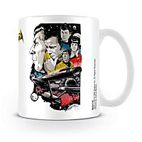 Star Trek - Tasse Collage