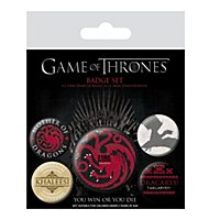Game of Thrones - Ansteck-Buttons Feuer & Blut