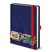 Captain America - Premium Notizbuch Comic