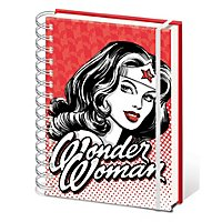 Wonder Woman - Notizbuch Red