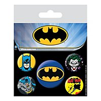 Batman - Ansteck-Buttons Batman & Joker