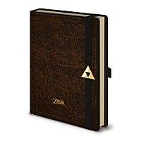 Zelda - Premium Notizbuch Karte von Hyrule