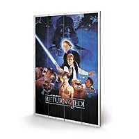 Star Wars - Holz-Print Star Wars VI: Return Of The Jedi