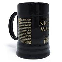 Game of Thrones - Bierkrug Eid der Nacht Wache