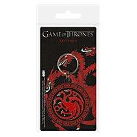 Game of Thrones - Targaryen Schlüsselanhänger aus Gummi
