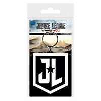 Justice League - Emblem Schlüsselanhänger aus Gummi