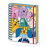 Adventure Time - A5 Notizbuch Charaktere