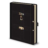 Sherlock - Premium Notizbuch 221B