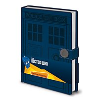 Doctor Who - Premium Notizbuch Tardis