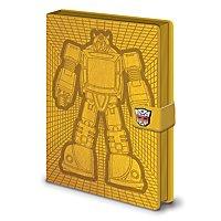 Transformers - Premium Notizbuch Bumblebee