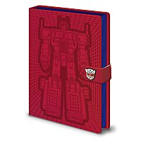 Transformers - Premium Notizbuch Optimus Prime