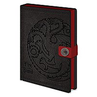 Game of Thrones - Premium Notizbuch Targaryen eingeprägt