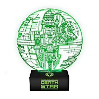 Star Wars - LED Lampe Todesstern Plan