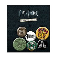 Harry Potter - Ansteck-Buttons Griffindor, Slytherin & mehr