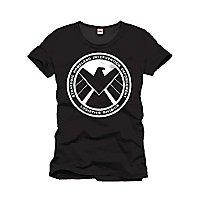 Captain America - T-Shirt Schild Emblem