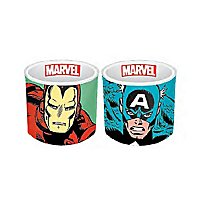 Marvel - Eierbecher Iron Man & Captain America