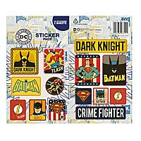 DC - Vinyl Sticker Pack Retro Comics