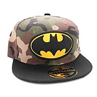 Batman - Snapback Cap Camouflage Logo
