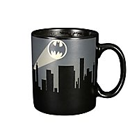 Batman - Tasse City mit Thermoeffekt