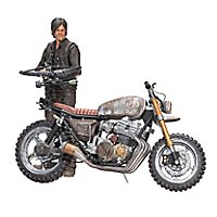 The Walking Dead - Actionfigur Daryl Dixon mit Chopper Deluxe