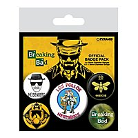 Breaking Bad - Ansteck-Buttons Los Pollos Hermanos