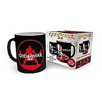 God of War - Tasse Kratos mit Thermoeffekt